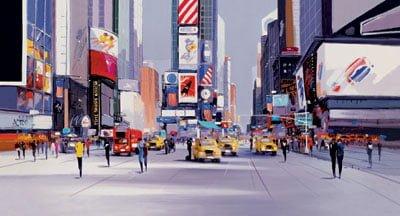 Cityscape I Box Canvas ~ Henderson Cisz