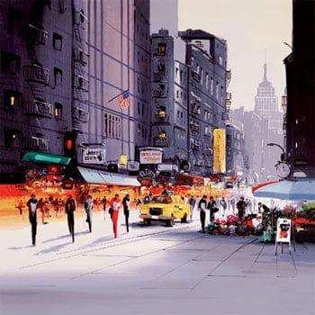 Cityscape II Box Canvas ~ Henderson Cisz