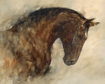 Companion (canvas) ~ Gary Benfield