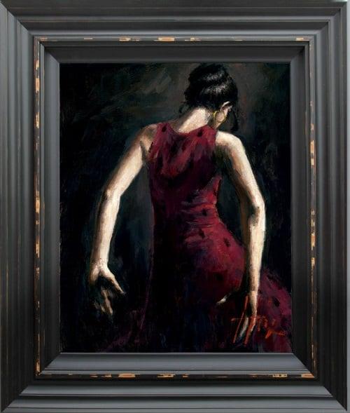 El Baile de Flamenco in Rojo I ~ Fabian Perez