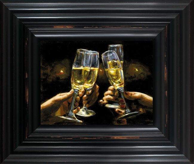 For a Better Life Con Champagne ~ Fabian Perez
