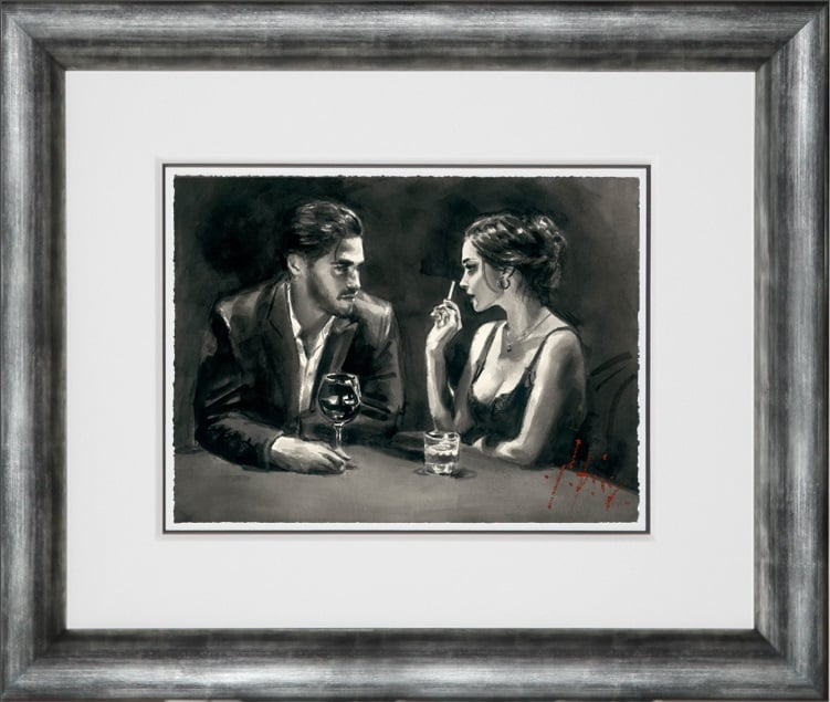 Intimate Moments IV (Paper) ~ Fabian Perez