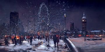 Midnight, london ~ Henderson Cisz