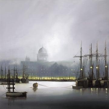 Mist on the Thames ~ Barry Hilton