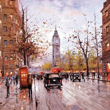 Morning in westminster ~ Henderson Cisz