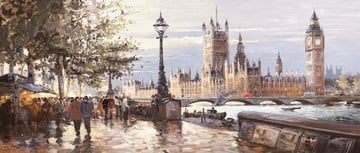 Morning on the Embankment ~ Henderson Cisz