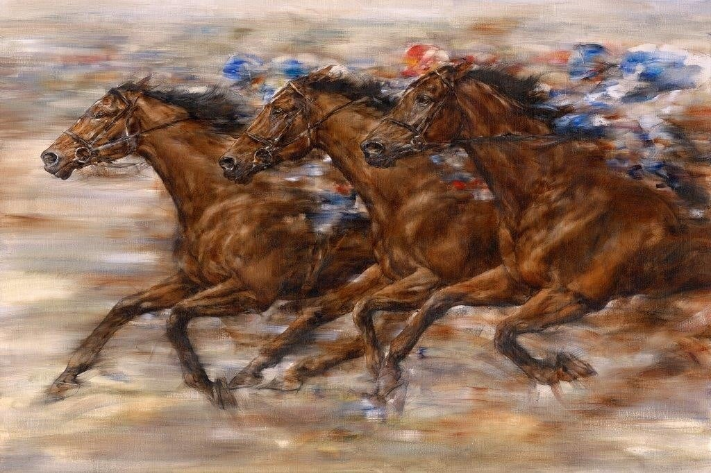 Racing ~ Gary Benfield