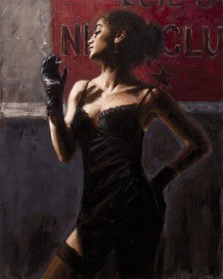 Sensual touch in the dark ii ~ Fabian Perez
