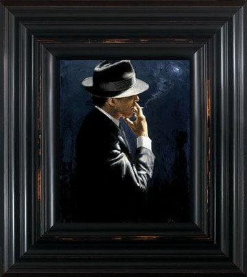 Smoking Under the Light II ~ Fabian Perez