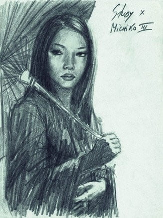 Study for Michiko III ~ Fabian Perez