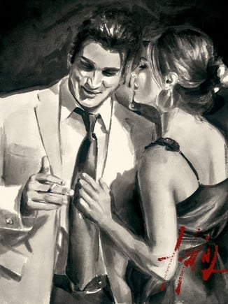 Study for Proposal III ~ Fabian Perez