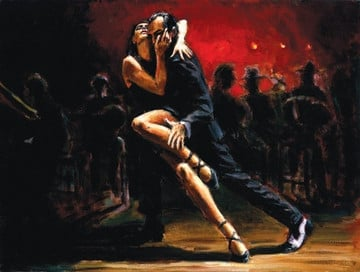 Tango in Red ~ Fabian Perez