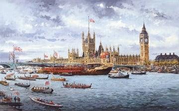 Thames pageant ~ Henderson Cisz