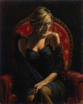 The black stone ~ Fabian Perez