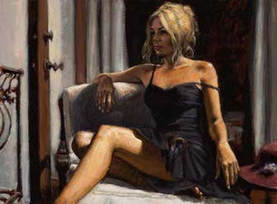 The Red Hat ~ Fabian Perez