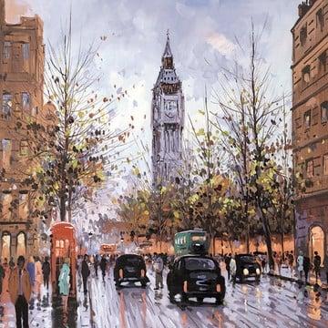 The Elizabeth Tower ~ Henderson Cisz