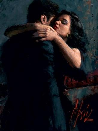 The embrace iii ~ Fabian Perez