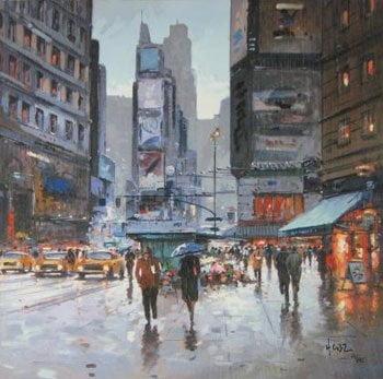 Times square view ~ Henderson Cisz