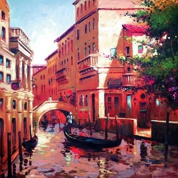 Venetian glow ~ Henderson Cisz