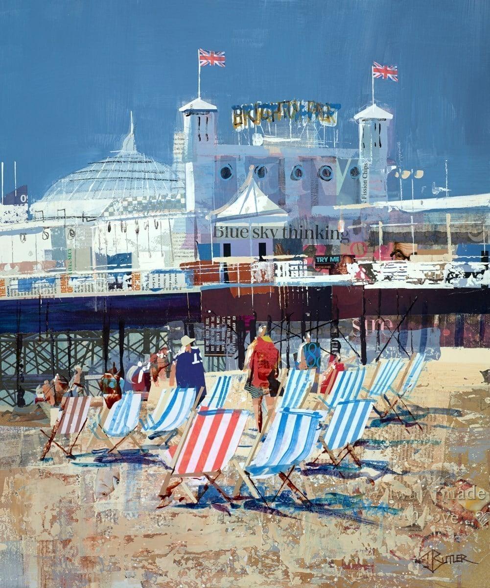 Deckchairs, Brighton Beach ~ Tom Butler