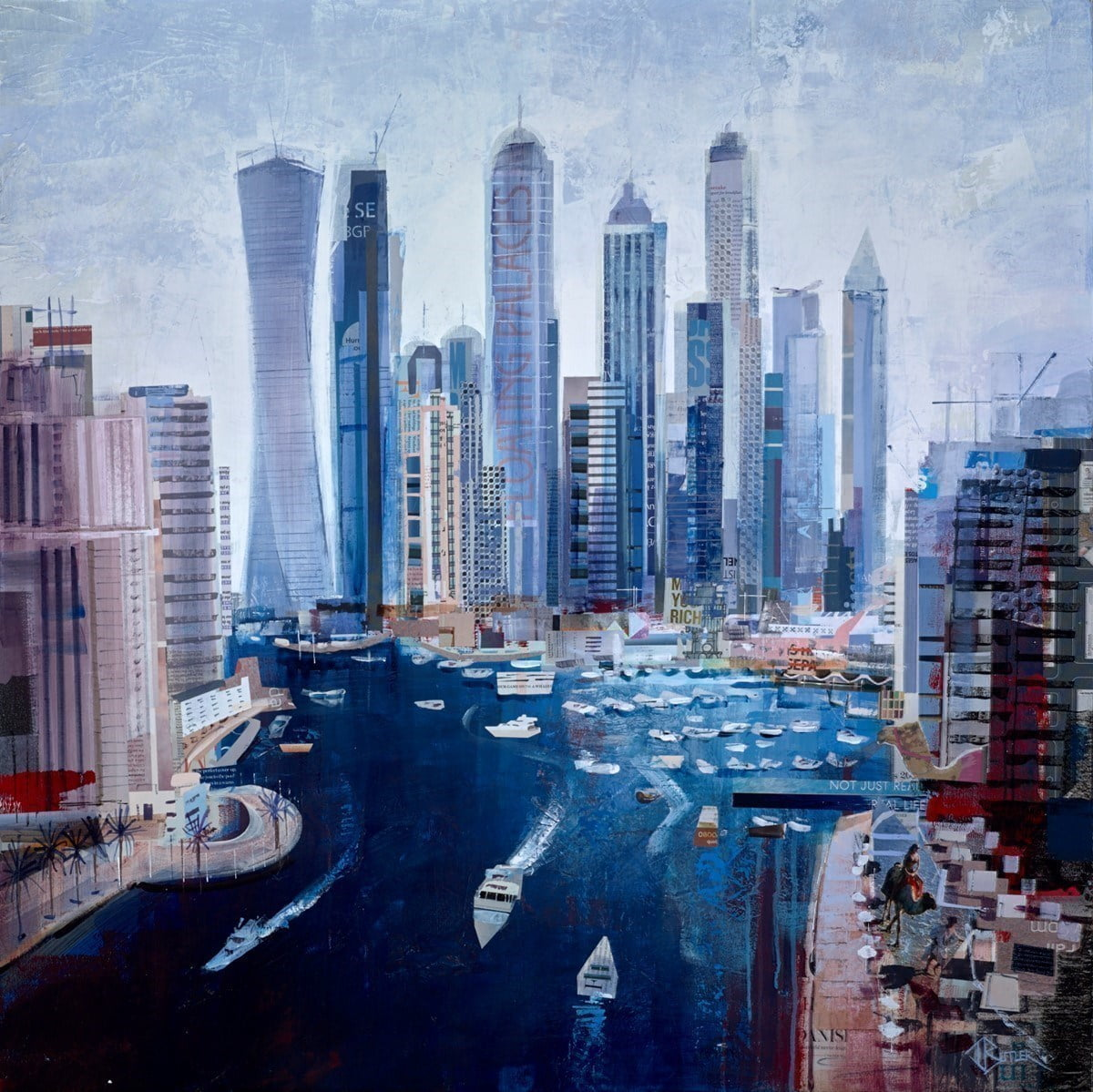 High and Mighty, Dubai Marina ~ Tom Butler