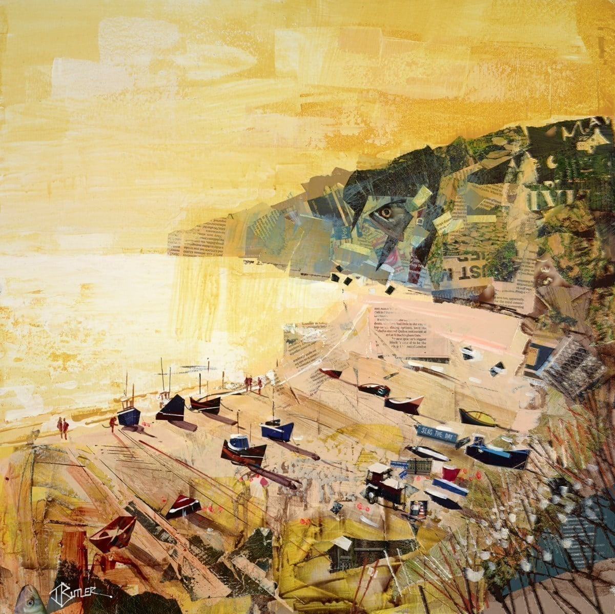 Low Sun, Beer Beach ~ Tom Butler