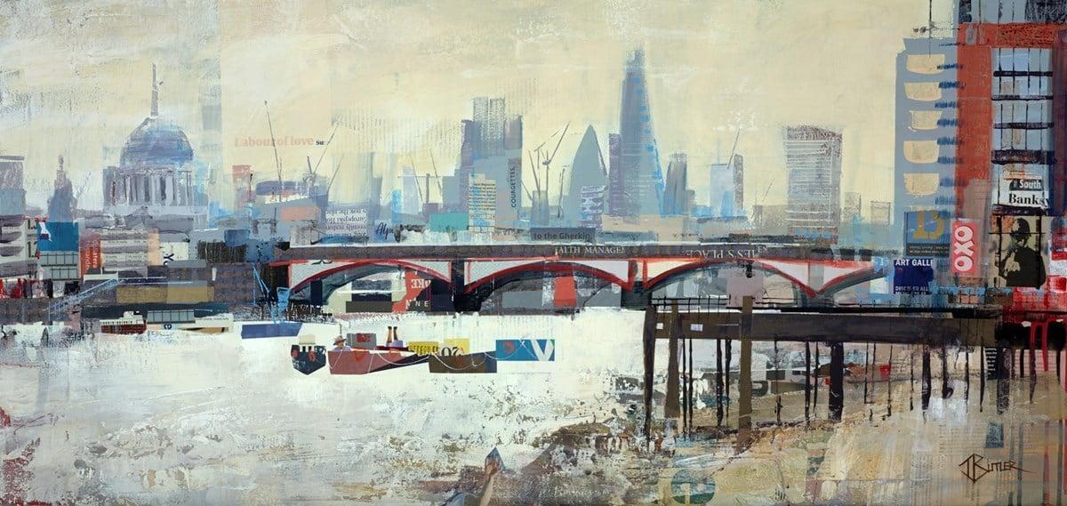 Low Tide, Southbank ~ Tom Butler