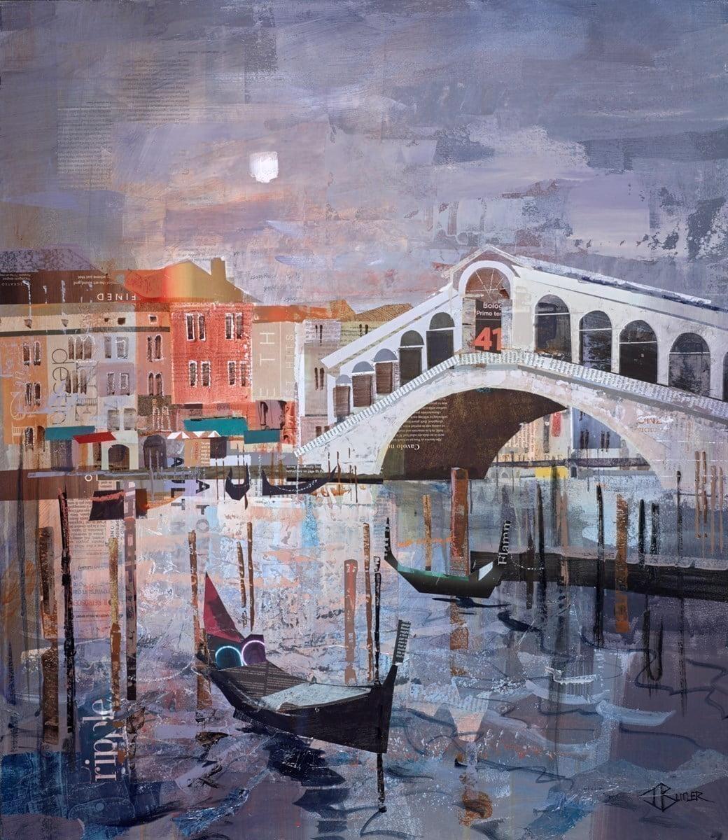 Moonlit Rialto ~ Tom Butler