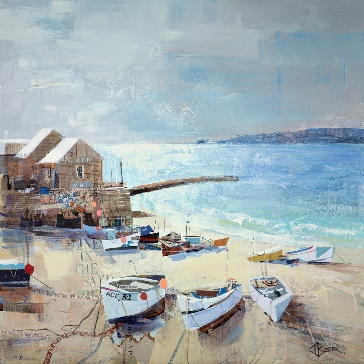 Seas the Day, Sennen Cove ~ Tom Butler
