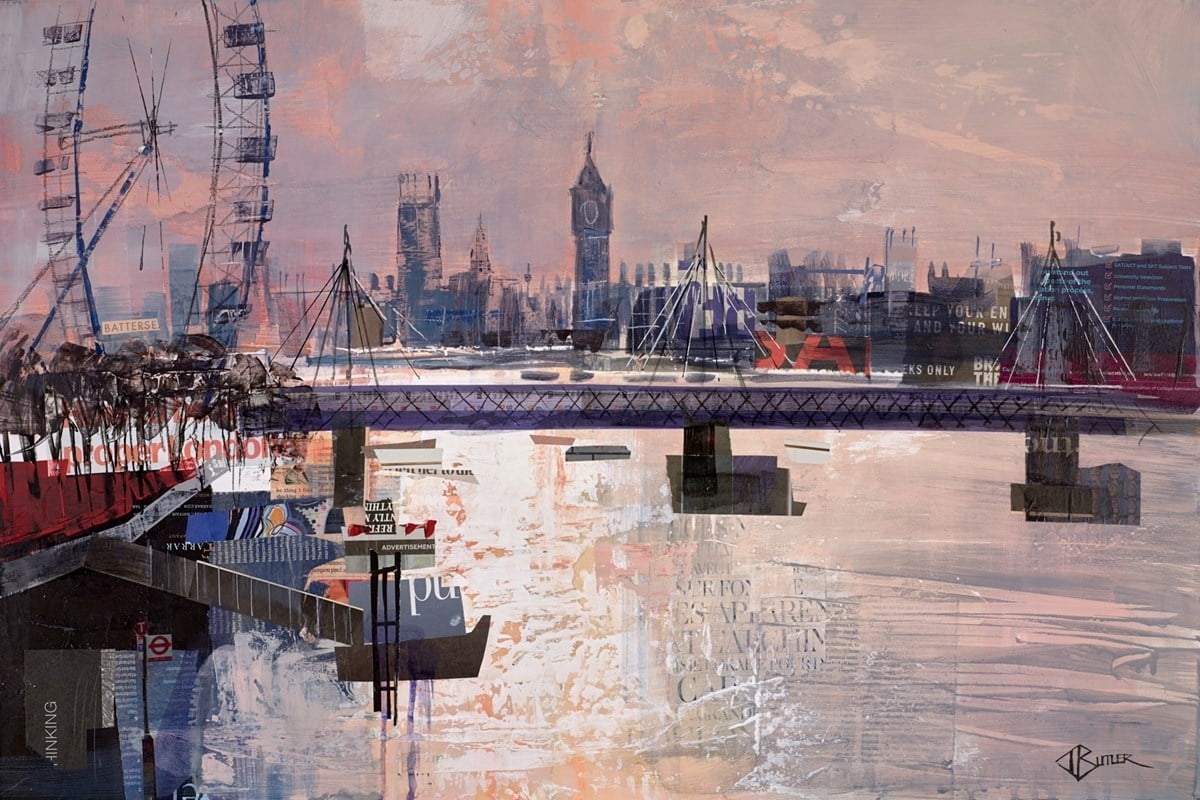 Southbank Sunset Study ~ Tom Butler