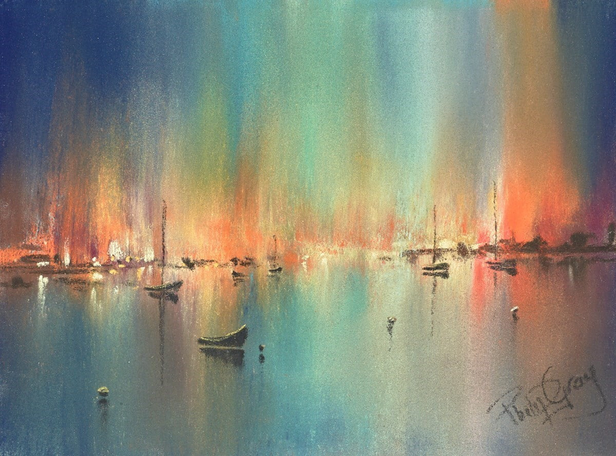 Sunset Colours IV ~ Philip Gray