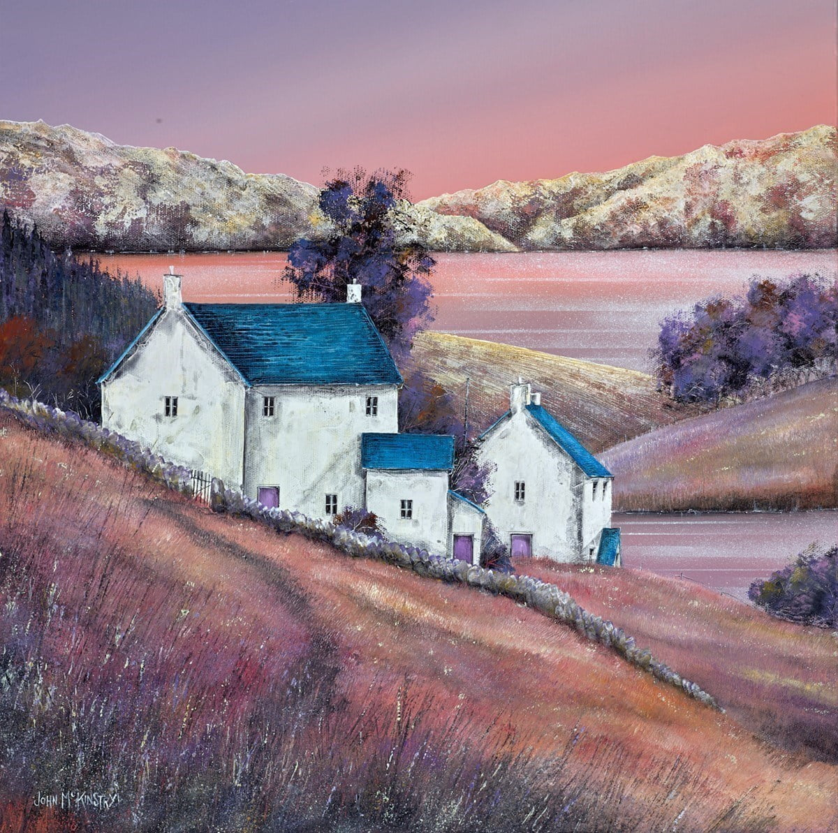 Dusk Light ~ John Mckinstry