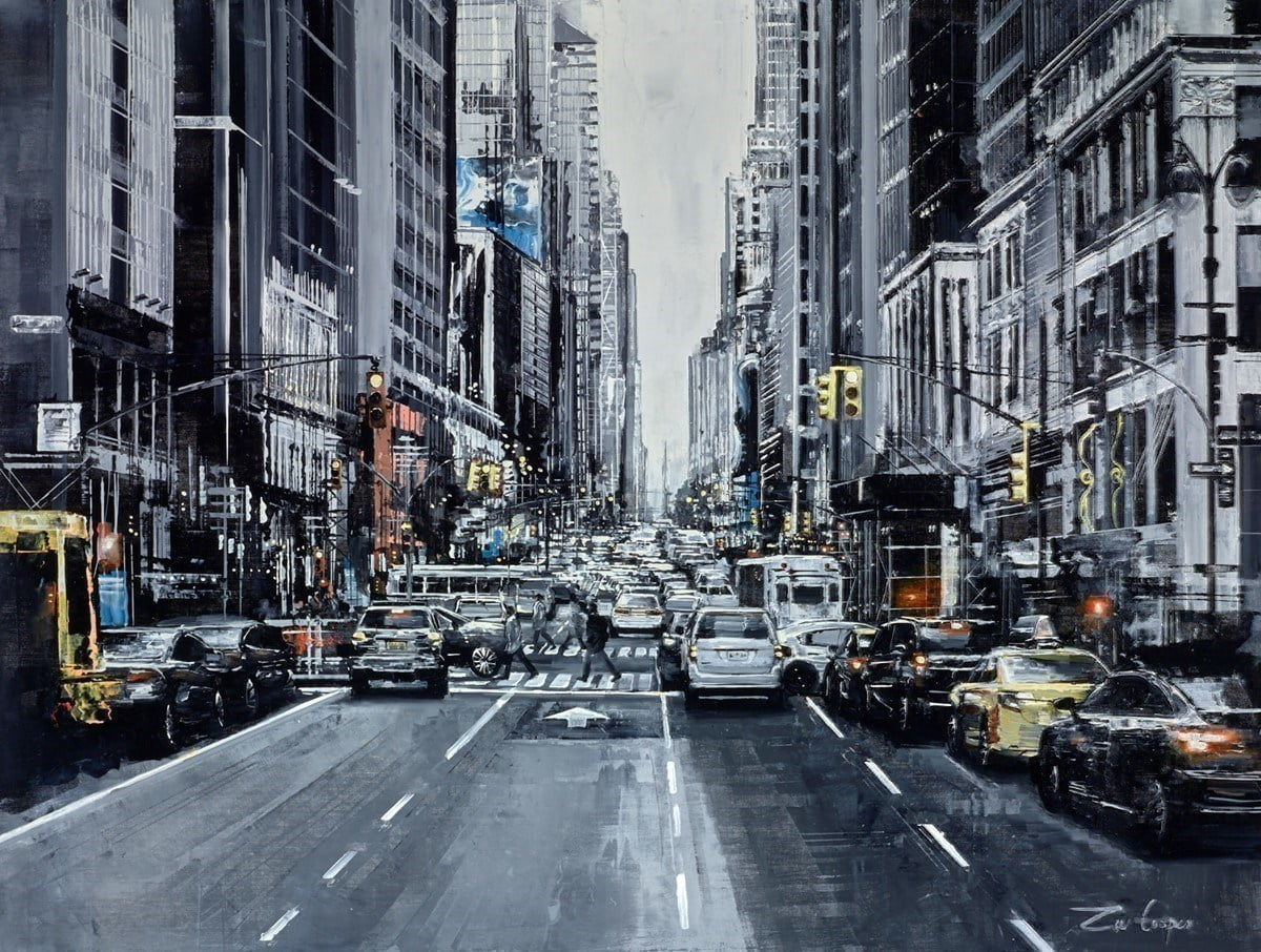 Eighth Avenue ~ Ziv Cooper