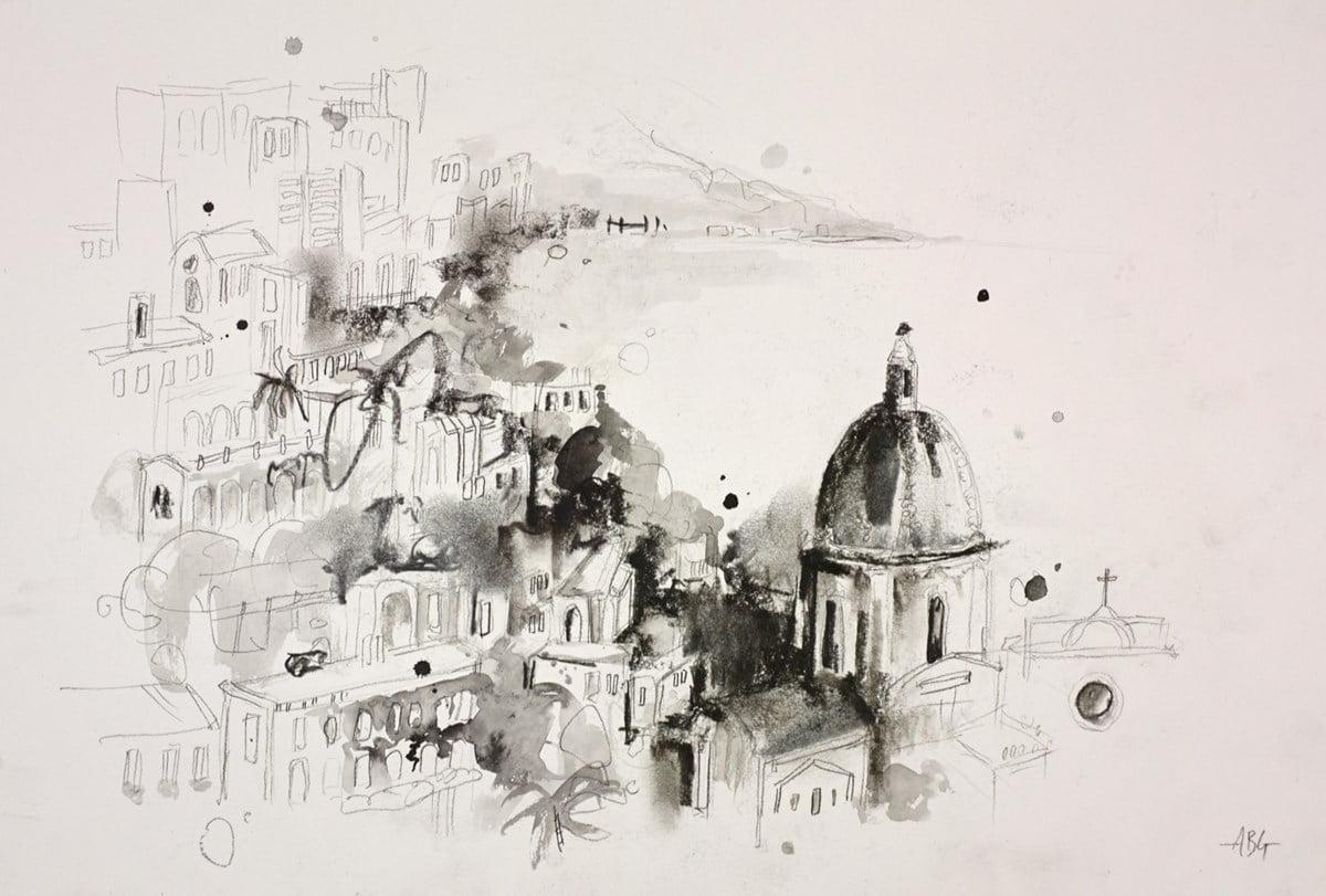 Amalfi Coast, Italy Sketch I ~ Anna Gammans