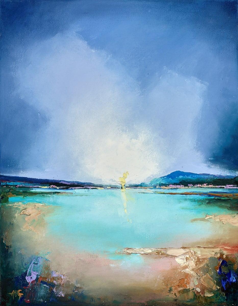 Blue Reflections V ~ Anna Gammans