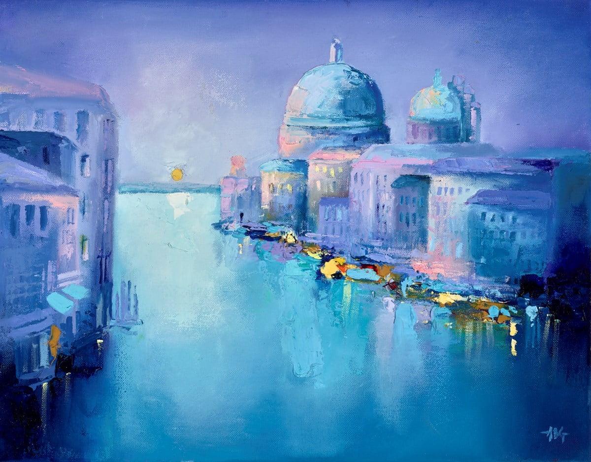 Blue Venice V ~ Anna Gammans