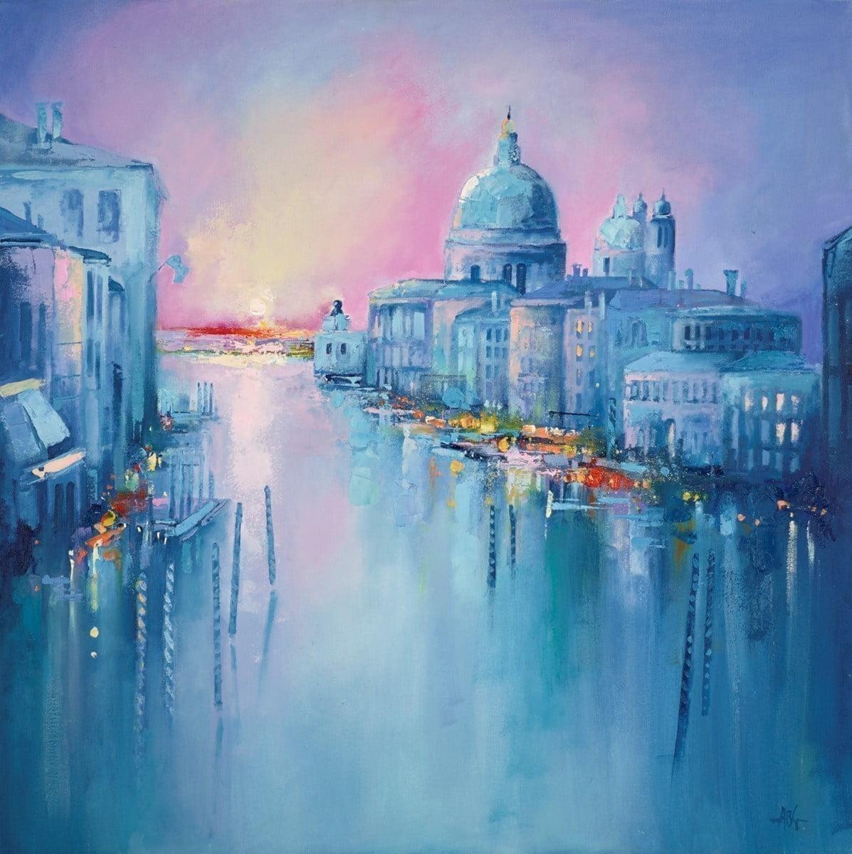 Grand Canal Venice IV ~ Anna Gammans
