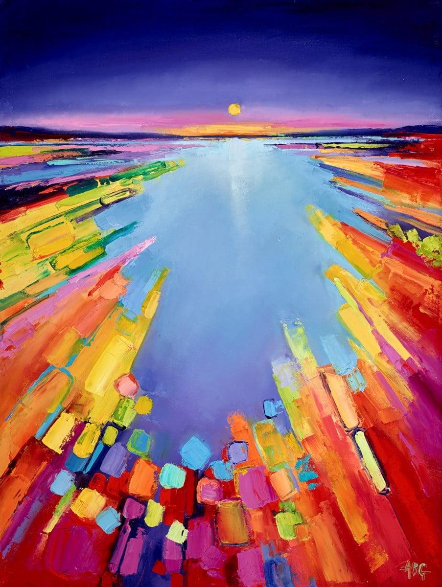 Illuminated Sea IV ~ Anna Gammans