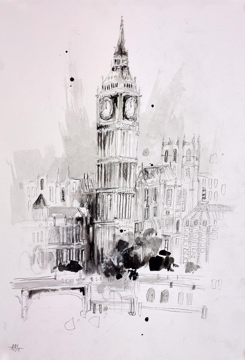 London Sketch V ~ Anna Gammans