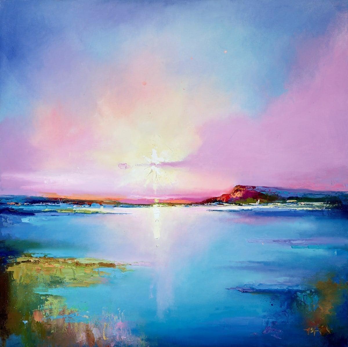 Pink Skies II ~ Anna Gammans