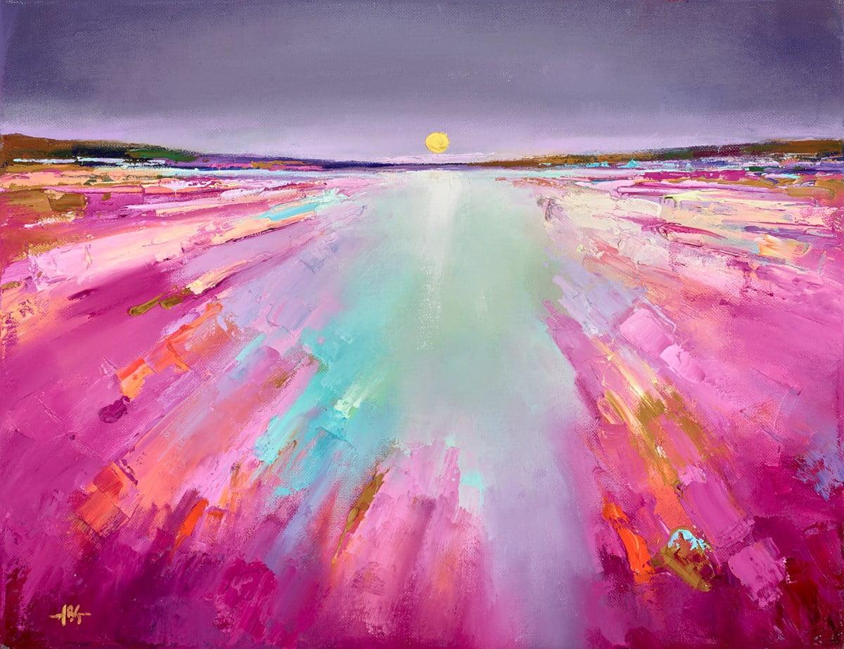 Sunset on the Sea IV ~ Anna Gammans