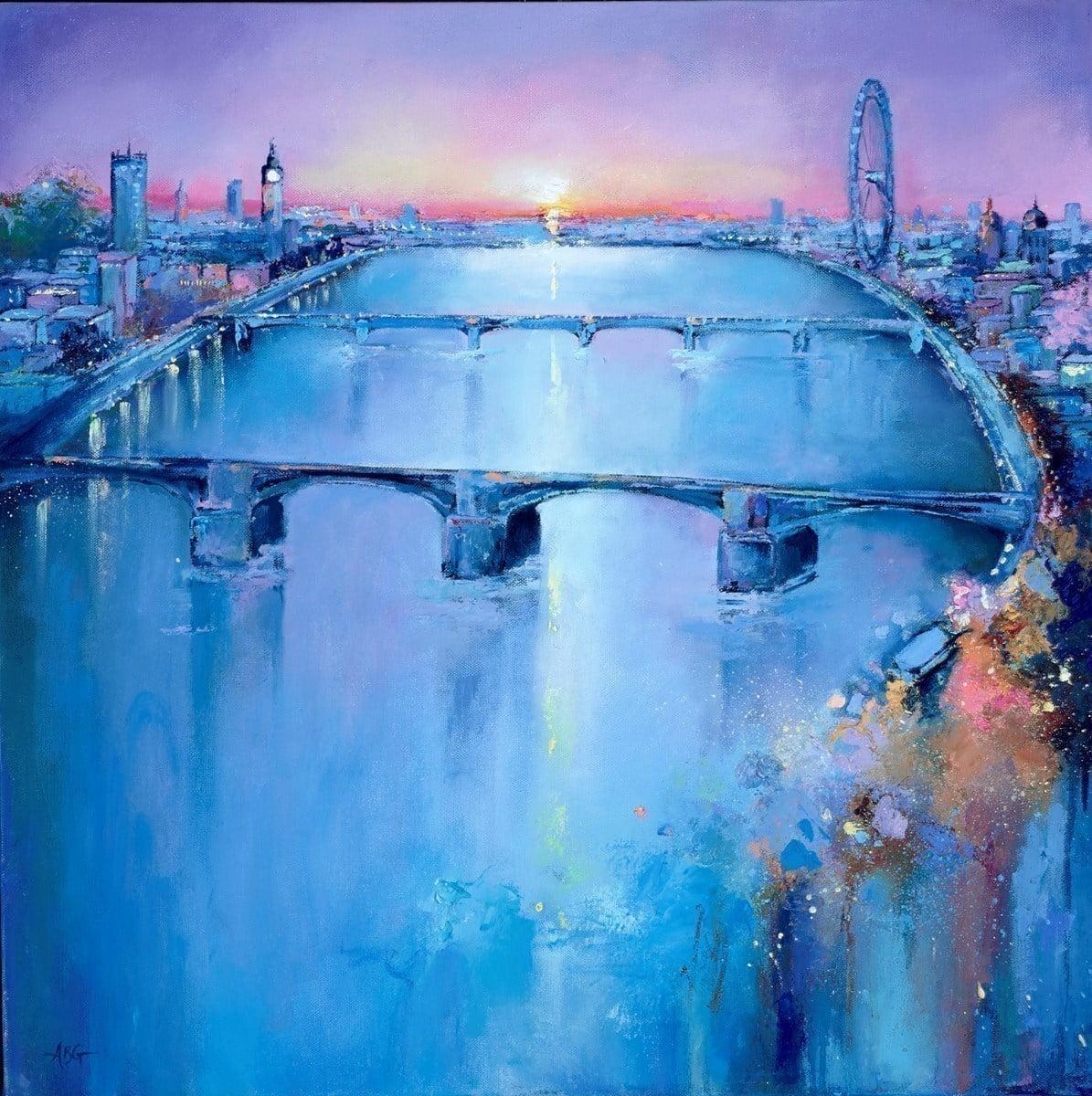 Thames Vista I ~ Anna Gammans