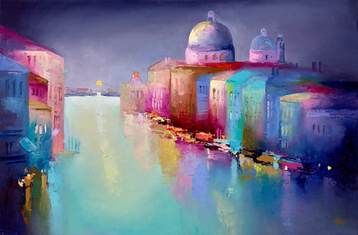 Venice Evening IV ~ Anna Gammans