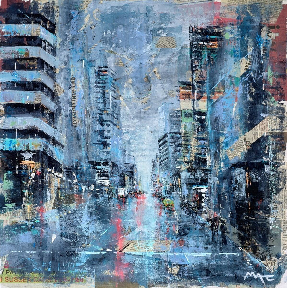 Rainstorm, NYC ~ Mark Curryer