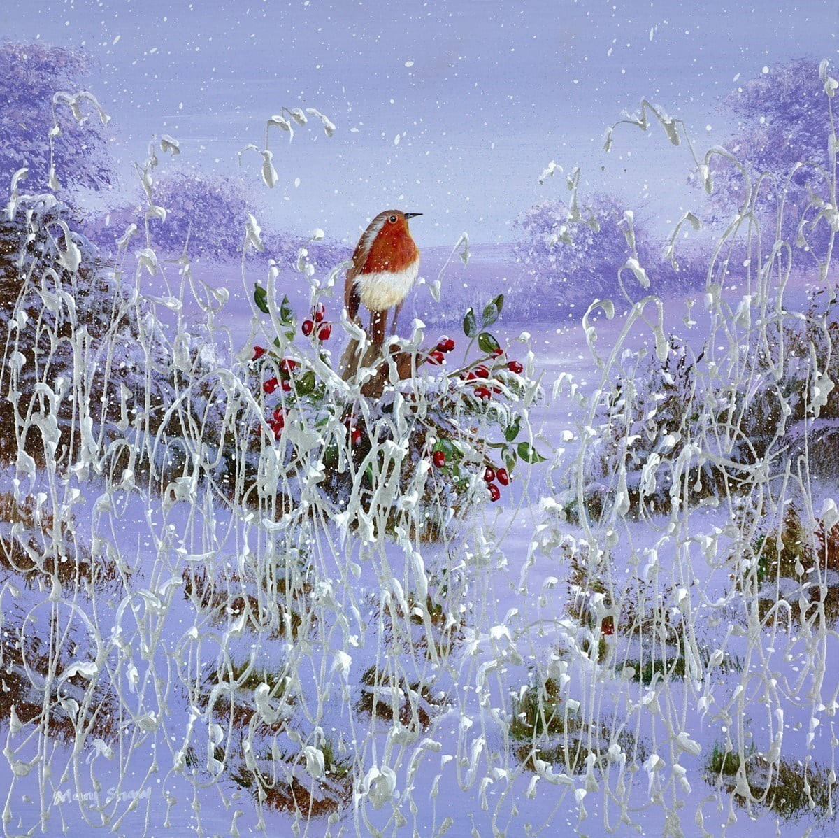 Winter Meadow VI ~ Mary Shaw