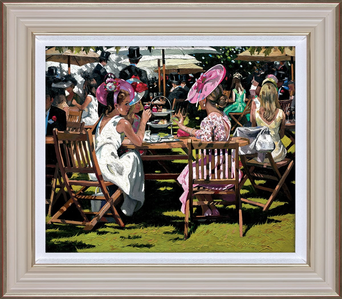 Afternoon Tea at Ascot ~ Sherree Valentine Daines
