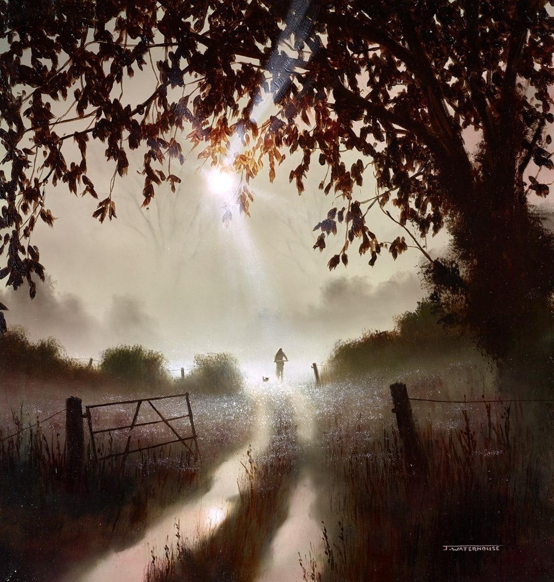 Moonlight Bike Ride ~ John Waterhouse