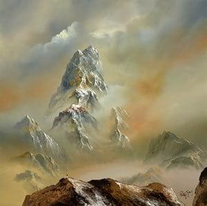 Grey Peaks I ~ Philip Gray