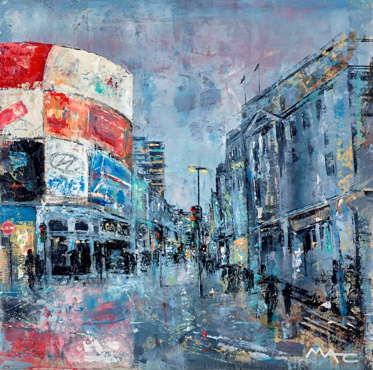 A London Night on the Town ~ Mark Curryer