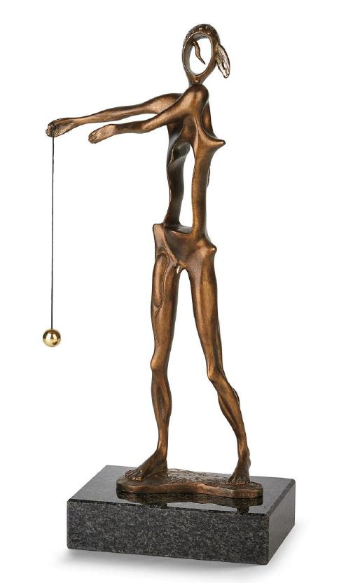 Homage To Newton ~ Salvador Dali